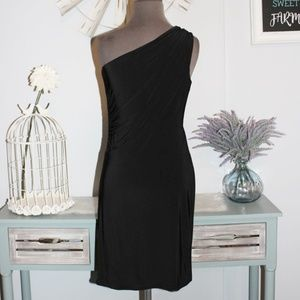 The Limited One Shoulder Black Dress Size XS